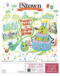 Atlanta INtown 20th Anniversary Edition, November 2014 By Atlanta ...