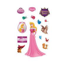 Fathead Princess Wall Decor by Amazon Com Disney Sleeping Beauty Wall Decal Home U0026 Kitchen