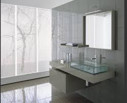 Cosmopolitan Gray Modern Bathroom Vanity Set 55