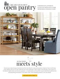 Havertys Rustic Dining Room Table by Havertys Open Pantry