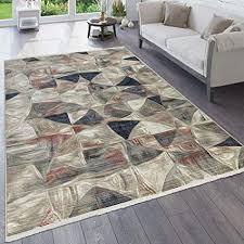 paco home teppich wohnzimmer vintage orient muster abstrakt verschiedene designs farben grösse 80x150 cm farbe beige