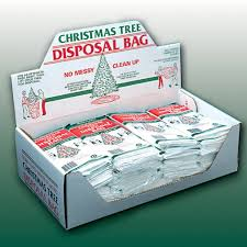 Creative Ideas Christmas Tree Disposal Bag Catchy Collections Of Garbage Perfect Homes Plain Decoration