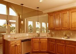 Small L Shaped Kitchen Design Corner Sink Serveware Ice Makers