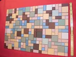 400 vintage clay ceramic tiles by mosaic tile co nos colorful