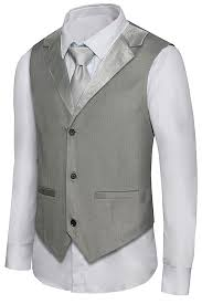 1920s Style Mens Vests Pullover Vests Waistcoats
