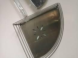 ikea lillholmen badezimmer eckregal 16043 edelstahl 7 1 2
