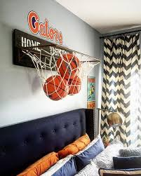 chambre basketball 17 inspirational ideas for decorating basketball themed room