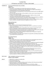 Related Job Titles HR Representative Resume Sample