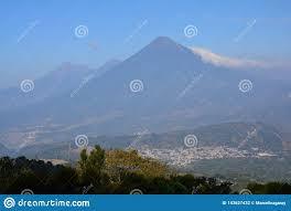 100 Where Is Guatemala City Located Pacaya Volcano Near Antigua Stock Photo Image Of