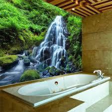 shop 3d wallpaper wasserfälle wald natur landschaft