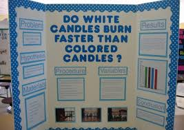 Science Fair Project Display Guide Iconic