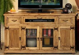 Laredo Rustic 63 TV Stand With 2 Drawers