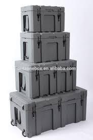 100 Waterproof Truck Box 248l Roto Molding Plastic Equipment Case Hard Plastic