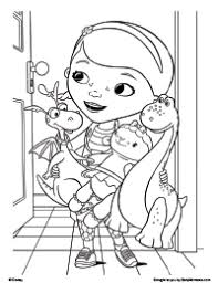 Free Printable Doc Mcstuffins Checkup Time Coloring Pages