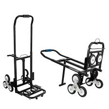 Slendor Stair Climbing Cart With 3 Wheels Each Side 330 LBS Capacity ...