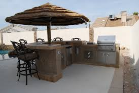 Outside Patio Bar Ideas by Deck Outdoor Patio Bar Brown Ceramic Tiled Prefab Island For With