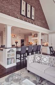Tile Flooring Ideas For Family Room by Best 25 Kitchen Living Rooms Ideas On Pinterest Kitchen Living
