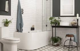 White Bathroom Ideas That Are Far From Boring   Loveproperty.com 47 Rustic Bathroom Decor Ideas Modern Designs 25 Beautiful All White Decoration Which Will Improve 27 Elegant To Inspire Your Home On Trend Grey Bigbathroomshop Making A More Colorful Hgtv Trendy Black And Tile Aricherlife 33 Master 2019 Photos 23 New And Tiles In A Small Plan Decorating Pictures Of Fniture Ikea That Never Go Out Of Style