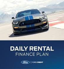Daily Rental Financing | Ford Commercial Vehicle Financing ...