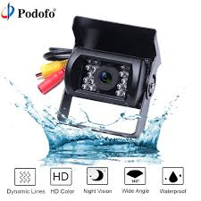 100 Backup Camera For Truck Car Dvr Podofo Bus And Waterproof 18 IR LED Car