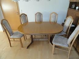 esstisch tisch mit stühle stuhl für esszimmer oder wohnzimmer