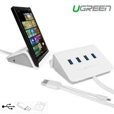 Port USB 3 0 OTG Hub and Smartphone Tablet Stand
