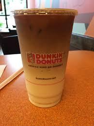 Large Pumpkin Iced Coffee Dunkin Donuts by Dunkin Donuts Iced Pumpkin Macchiato Review Fast Food Geek