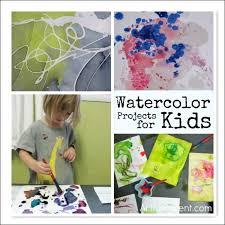 11 Fun Watercolor Projects For Kids
