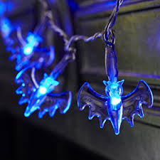 battery operated bat lights with 20 blue leds by