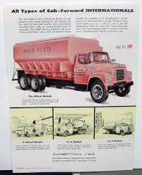 100 1957 International Truck IHC Model ACF 170 180 Gas LPG Sales Brochure