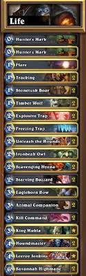warlock aggro deck 2016 deck of the week 8 lifecoach blizzpro s hearthstone
