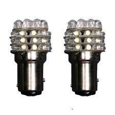 2 x t25 1157 white 36 led car turn brake light bulb l hotsale