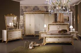 barock schlafzimmer katia in beige gold 6 teilig