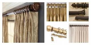 Kirsch Decorative Traverse Curtain Rods by Traverse Curtain Rods Shop Allen Roth 72 In To 144 In Specialty