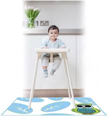 High Chair Floor Mat Regarding Diy Splat Mat Mat For Under Your High ... Office Chair Protective Floor Mats For Chairs Unique 50 Decoration Mat Wood And Snap Together J Is For Baby High Protector Clear Plastic Toddler Riviera Side Natulriviera Natural Pink 1st Birthday Kit Kids Party Supplies At Cheap Covers Find Deals On Amazoncom Youngcol Splat Reusable Bumbo Seat Tray Booster Seats Bear Kingdom Disposable Modern Shop Accmor By Accmor