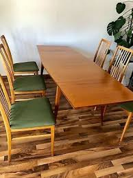 6x stuhl tisch table vintage 50er midcentury 60er modern