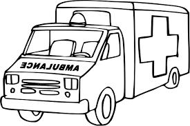 Coloriage Voiture Ambulance Coloriage Ambulance Imprimer Artemiaorg