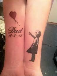 Family Tattoo For Dad