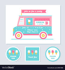Icecream Truck Kids Party Invitation And Vector Image Just Chill N Ice Cream Truck Orange County Food Trucks Roaming Make Your Kids Party More Enjoyable By Jessicabeak Davey Bzz Shaved And Rentals New Jersey Nj Creamretro Diner Inspired Birthday Menu Anything Hann Made Georgia Ice Cream Truck Parties Events Coolhaus Skeels Grocery Store Greensboro North Decor Invite Invitation Diy Etsy Street Freeze Las Vegas Favor Box Cupcake Set Of 4 Invitations Jins Toronto Give Your Party A Tasty Turn With