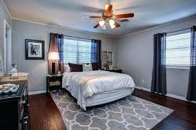 Grey Walls With Wood Floors Gray Live The Home Life Master Bedroom