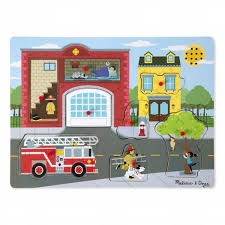 Kelebihan Melissa Doug - Around The Fire Station Sound Puzzle / 736 ... Sound Puzzles Upc 0072076814 Mickey Fire Truck Station Set Upcitemdbcom Kelebihan Melissa Doug Around The Puzzle 736 On Sale And Trucks Ages Etsy 9 Pieces Multi 772003438 Chunky By 3721 Youtube Vehicles Soar Life Products Jigsaw In A Box Pinterest Small Knob Engine Single Replacement Piece Wooden Vehicle Around The Fire Station Sound Puzzle Fdny Shop