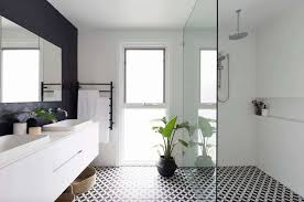 25+ Incredibly Stylish Black And White Bathroom Ideas To Inspire White Bathroom Design Ideas Shower For Small Spaces Grey Top Trends 2018 Latest Inspiration 20 That Make You Love It Decor 25 Incredibly Stylish Black And White Bathroom Ideas To Inspire Pictures Tips From Hgtv Better Homes Gardens Black Designs Show Simple Can Also Be Get Inspired With 35 Tile Redesign Modern Bathrooms Gray And