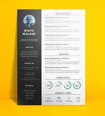 free creative resume templates docx 20 free cv resume templates 2017 freebies graphic design