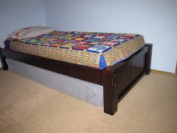 Construction Plans Platform Bed by Diy Twin Platform Bed Plans Diy Twin Platform Bed Construction