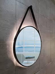 talos badspiegel black light ø 50 cm runder spiegel mit