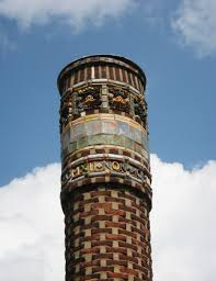 Moravian Pottery And Tile Works History by File Moravian Tile Factory Chimney Jpg Wikimedia Commons