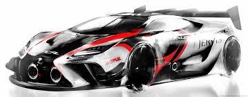 Lexus Design Study Would Make an Awesome Mid Engined Racing