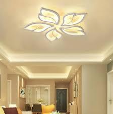 deckenleuchte led wohnzimmer deckenle dimmbar chic blume deko designer len
