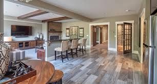 Bar Basement Interior Design Kitchen Custom Cabinets Wood