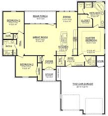 3 Bedroom Ranch Floor Plans Colors 44 Best 1600 Square Foot Plans Images On Pinterest Small House